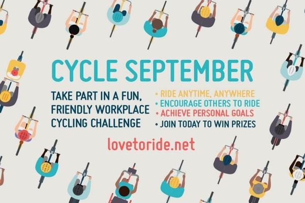 Love to Ride 'Cycle September' logo